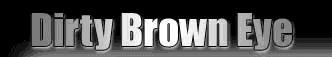 Dirty Brown Eye - Logo