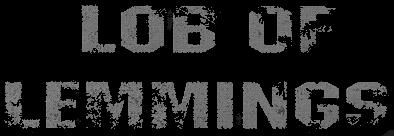 Lob of Lemmings - Logo