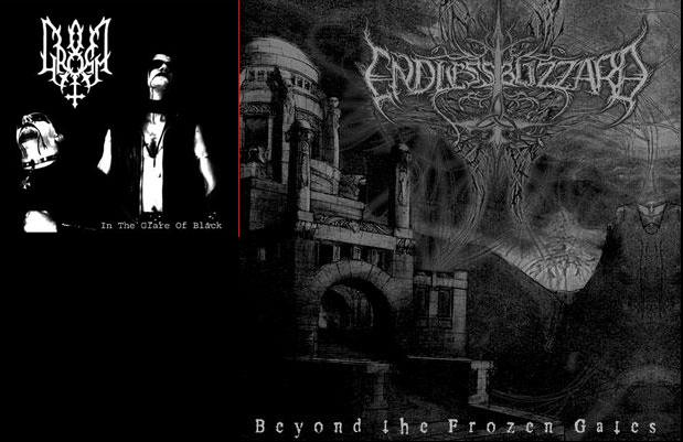 Gromm / Endless Blizzard - In the Glare of Black / Beyond the Frozen Gates