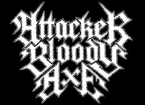 Attacker Bloody Axe - Logo