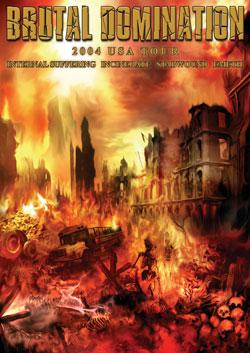 Internal Suffering / Incinerate / Stabwound / Emeth - Brutal Domination