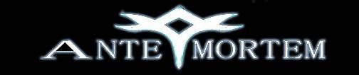 Ante Mortem - Logo