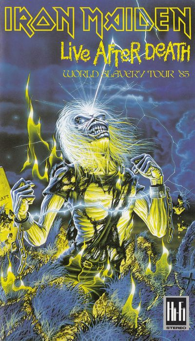 Iron Maiden - Live After Death (World Slavery Tour '85)