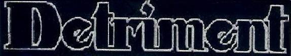 Detriment - Logo
