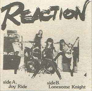 Reaction - Joy Ride / Lonesome Knight