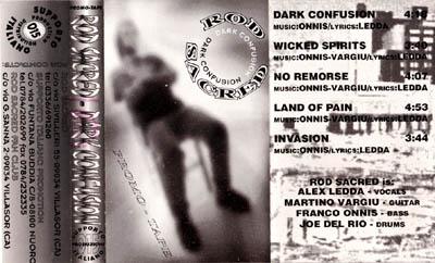 Rod Sacred - Dark Confusion