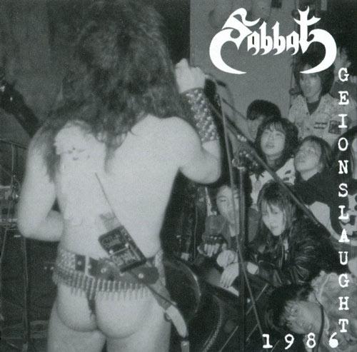 Sabbat - Geionslaught 1986
