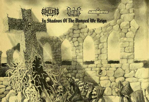 Soulless Profanation / Arminius / Pandemic Genocide - In Shadows of the Damned We Reign