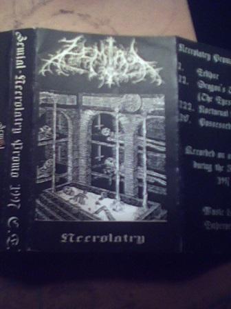 Zemial - Necrolatry