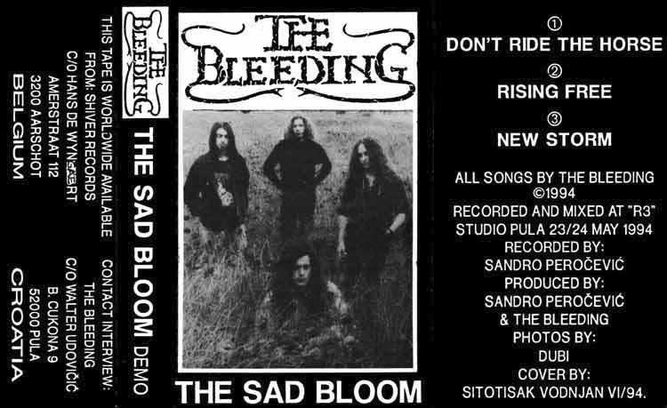 The Bleeding - The Sad Bloom