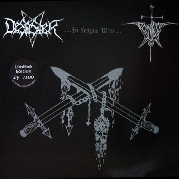 Desaster / Pentacle - Desaster... in League with... Pentacle