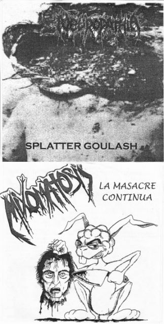 Mixomatosis / Neuropathia - Splatter Goulash / La Masacre Continua