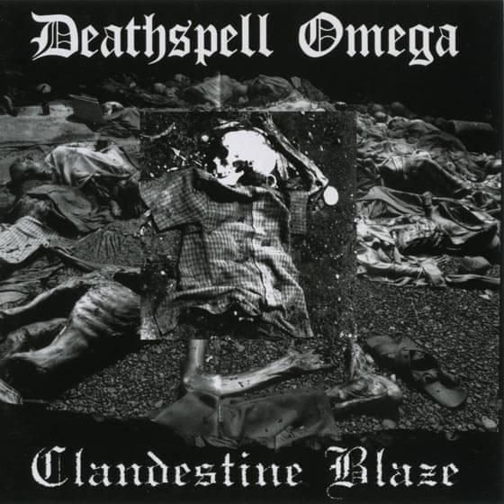 Clandestine Blaze / Deathspell Omega - Clandestine Blaze / Deathspell Omega