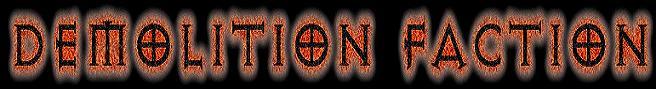 Demolition Faction - Logo
