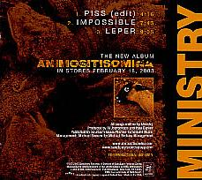 Ministry - Piss
