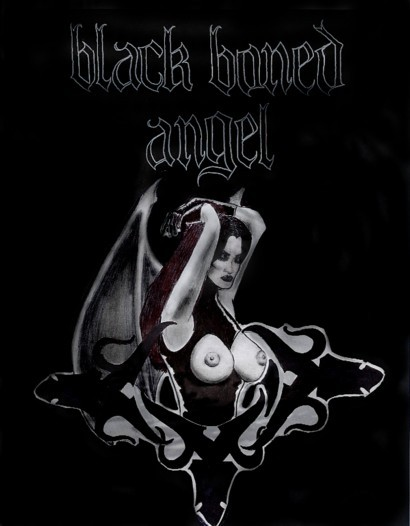 Black Boned Angel - Logo