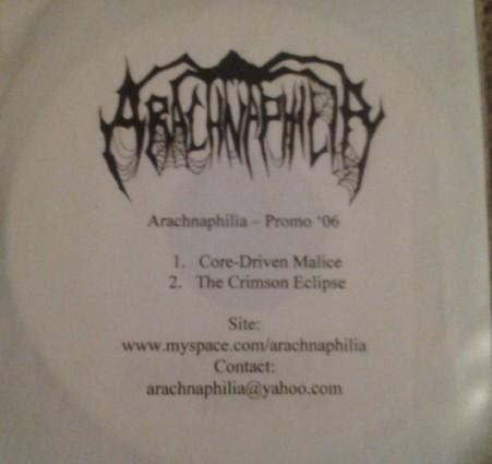 Arachnaphilia - Promo '06