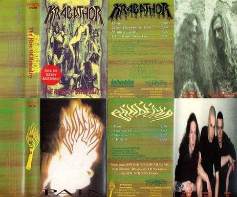 Krabathor / Pandemia - The Rise of Brutality / Pain
