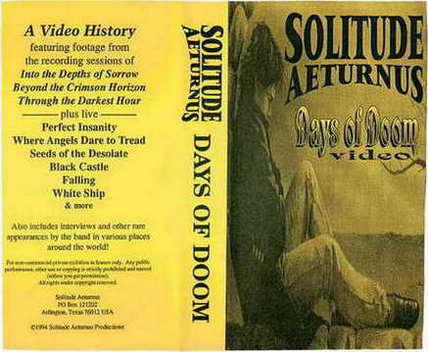 Solitude Aeturnus - Days of Doom