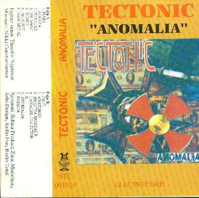 Tectonic - Anomalia