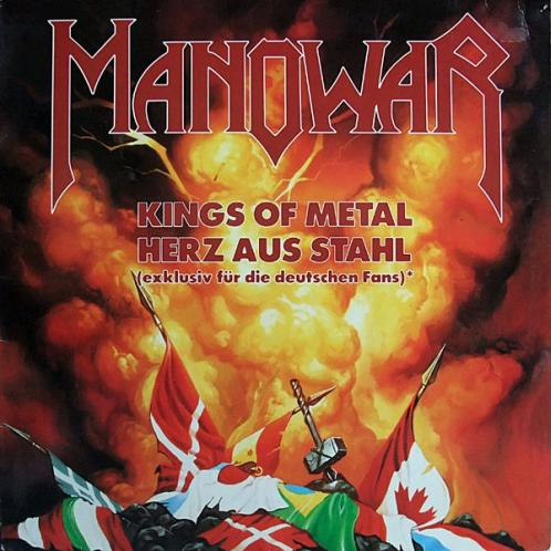 Manowar - Kings of Metal / Herz aus Stahl