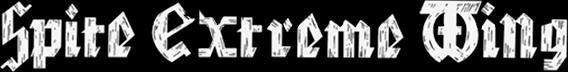 Spite Extreme Wing - Logo