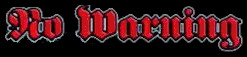 No Warning - Logo