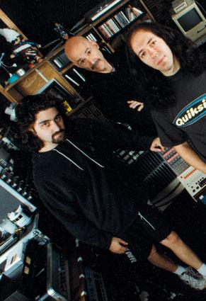 Liquid Trio Experiment - Photo