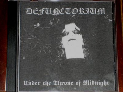 Defunctorium - Under the Throne of Midnight