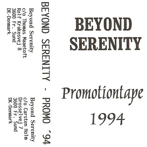 Beyond Serenity - Promotiontape '94
