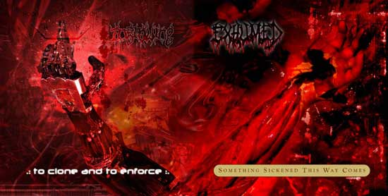 Exhumed / Ingrowing - Something Sickened This Way Comes / To Clone and to Enforce