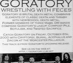 Goratory - Wrestling with Feces
