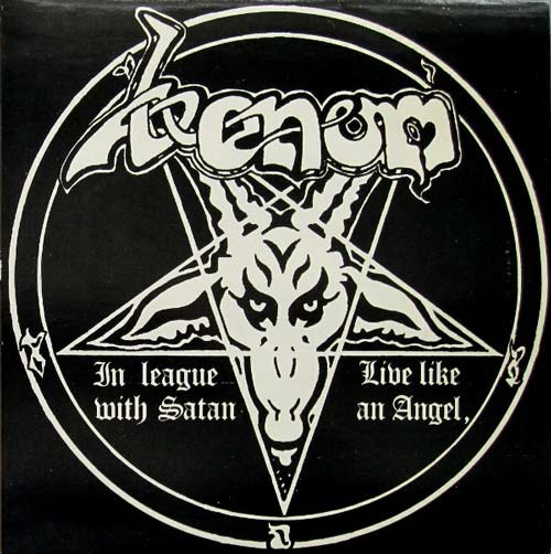 Venom - In League with Satan / Live like an Angel