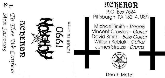 Acheron - Promo 1990