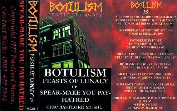 Botulism - Feasts of Lunacy