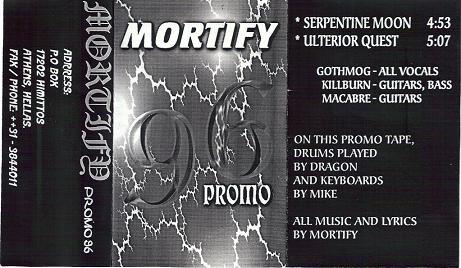 Mortify - Promo 96