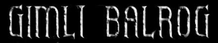 Gimli Balrog - Logo
