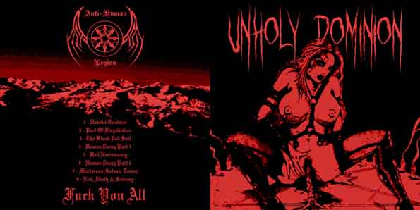 Unholy Dominion - Pact of Flagellation
