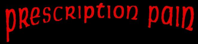Prescription Pain - Logo