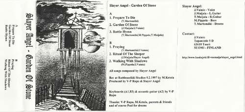 Slayer Angel - Garden of Stone