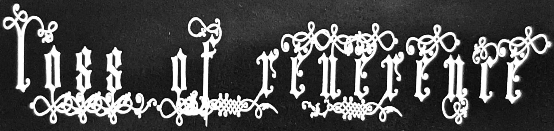 Loss of Reverence - Logo