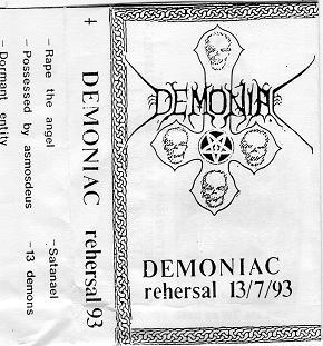 Demoniac - Rehersal 13/7/93
