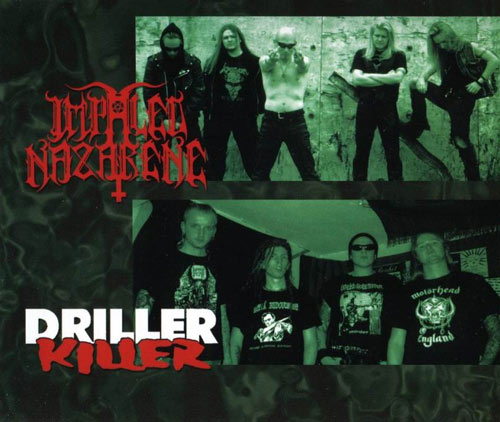 Impaled Nazarene / Driller Killer cover (Click to see larger  picture)