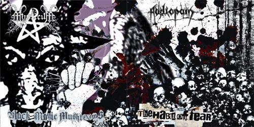 Mysticum / Audiopain - Black Magic Mushrooms / The Habit of Fear