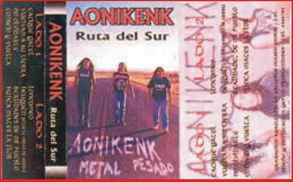 Aonikenk - Ruta del sur