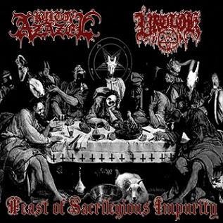Kult ov Azazel / Vrolok - Feast of Sacrilegious Impurity