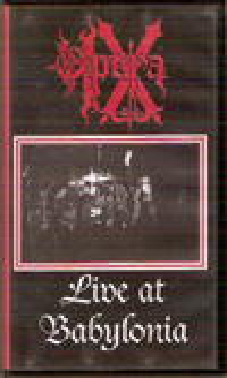 Opera IX - Live at Babylonia