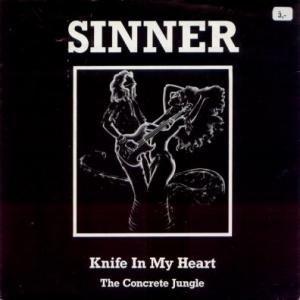 Sinner - Knife in My Heart