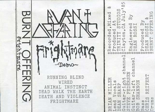 Burnt Offering - Frightmare