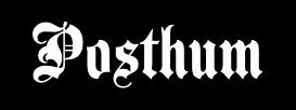 Posthum - Logo